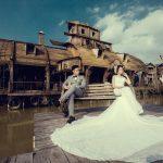 Chọn váy cưới cho cô dâu thấp